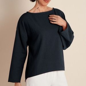 Soft Surroundings Top Blouse Gauze Pullover NWT